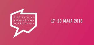 Logo Komiksowej Warszawy 2018