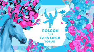 Logo Festiwalu Fantastyki Polcon 2018 w Toruniu