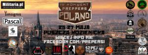 Logo IV edycji konwentu Preppers Poland