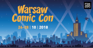 Baner konwentu Warsaw Comic Con