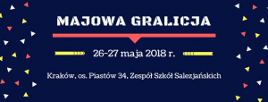 Logo Majowej Gralicji w Krakowie
