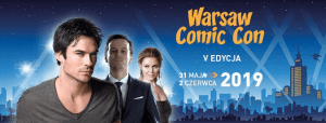 Banner Warsaw Comic Con