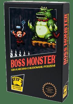 Recenzja gry karcianej Boss Monster od wydawnictwa Trefl Joker Line Konwenty Południowe