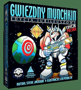 Recenzja gry karcianej Gwiezdny Munchkin od wydawnictwa Black Monk Konwenty Południowe
