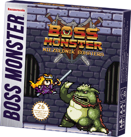 Recenzja gry karcianej Boss Monster - Niezbędnik Bohatera od wydawnictwa Trefl Joker Line Konwenty Południowe