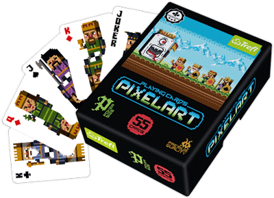 Pixel Art Playing Cards